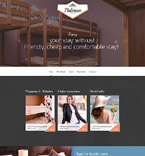Responsive JavaScript Animated Template #57957