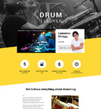 Responsive JavaScript Animated Template #57960