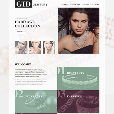 Website Template # 57963