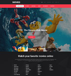 Responsive JavaScript Animated Template #57969