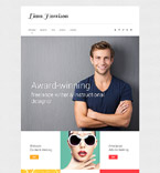 Responsive JavaScript Animated Template #57971