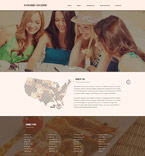 Responsive JavaScript Animated Template #57972