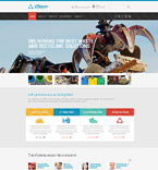 Responsive JavaScript Animated Template #57978
