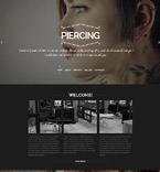 Responsive JavaScript Animated Template #57979