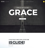 God Grace Joomla Template
