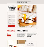 Chicago Hotel Landing Page Template