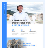 Residential Remodelling Landing Page Template