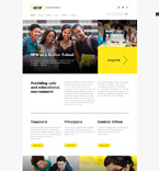 School Joomla Template