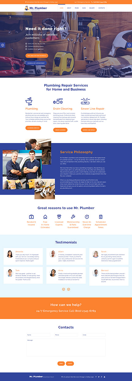 Most Popular Maintenance Services website inspirations at your coffee break? Browse for more Joomla #templates! // Regular price: $75 // Sources available: .PSD, .PHP #Most Popular #Maintenance Services #Joomla