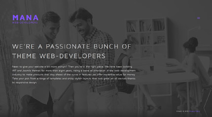 Software website inspirations at your coffee break? Browse for more Joomla #templates! // Regular price: $75 // Sources available: .PSD, .PHP #Software #Joomla