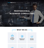 Corporation Landing Page Template