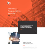 Responsive JavaScript Animated Template #58070