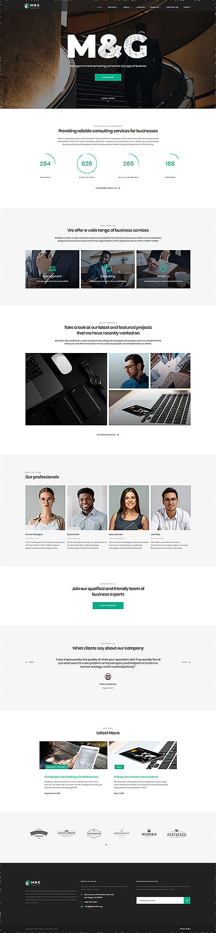 Business Most Popular website inspirations at your coffee break? Browse for more Responsive JavaScript Animated #templates! // Regular price: $69 // Sources available: .HTML,  .PSD #Business #Most Popular #Responsive JavaScript Animated