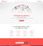 Responsive JavaScript Animated Template #58073