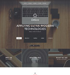 Responsive JavaScript Animated Template #58092