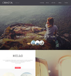 Responsive JavaScript Animated Template #58093