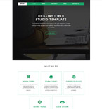 Responsive JavaScript Animated Template #58104