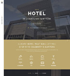 New York Hotel Landing Page Template