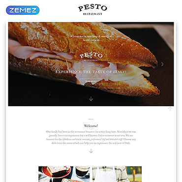 Landing Page Template # 58125