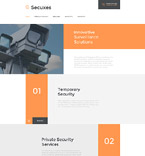 Responsive JavaScript Animated Template #58133