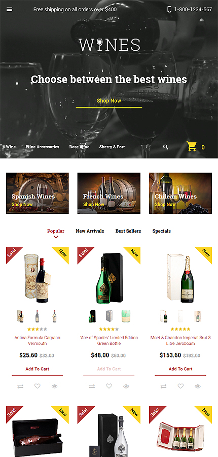Food & Drink Most Popular website inspirations at your coffee break? Browse for more PrestaShop #templates! // Regular price: $139 // Sources available: .PSD, .PHP, .TPL #Food & Drink #Most Popular #PrestaShop