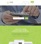 Responsive JavaScript Animated Template #58149