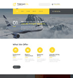 Responsive JavaScript Animated Template #58154