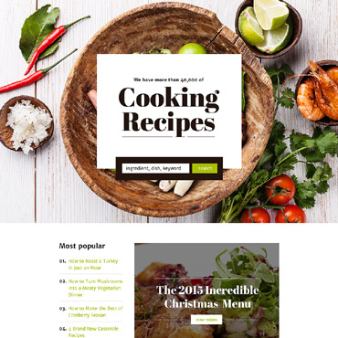 Landing Page Template # 58167