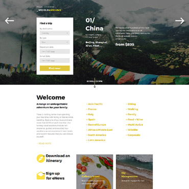 Landing Page Template # 58170