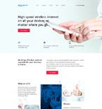Responsive JavaScript Animated Template #58186