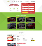 Responsive JavaScript Animated Template #58191