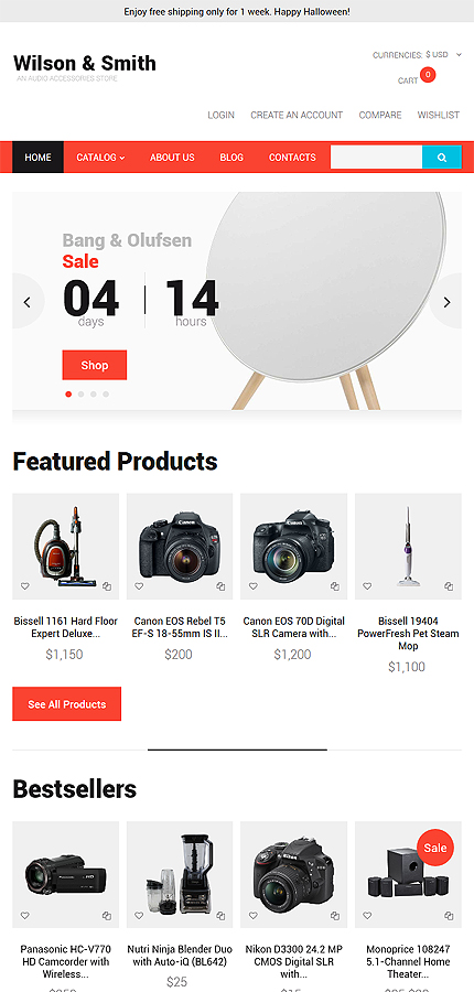 Electronics Most Popular website inspirations at your coffee break? Browse for more VirtueMart #templates! // Regular price: $139 // Sources available: .HTML,  .PSD, .PHP, .XML, .CSS, .JS #Electronics #Most Popular #VirtueMart