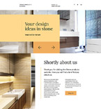 Stone Products Landing Page Template