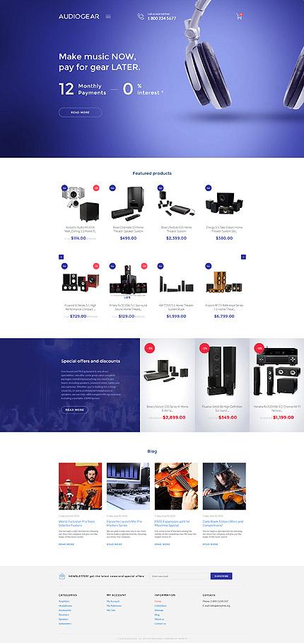 template 58230 ensegna themes. Black Bedroom Furniture Sets. Home Design Ideas