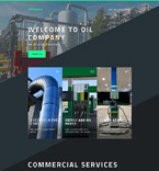 Energy Company Landing Page Template