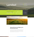 Broker Agency Landing Page Template