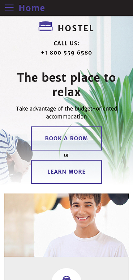 Hotels website inspirations at your coffee break? Browse for more Bootstrap #templates! // Regular price: $75 // Sources available: .HTML,  .PSD #Hotels #Bootstrap
