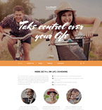 Responsive JavaScript Animated Template #58273
