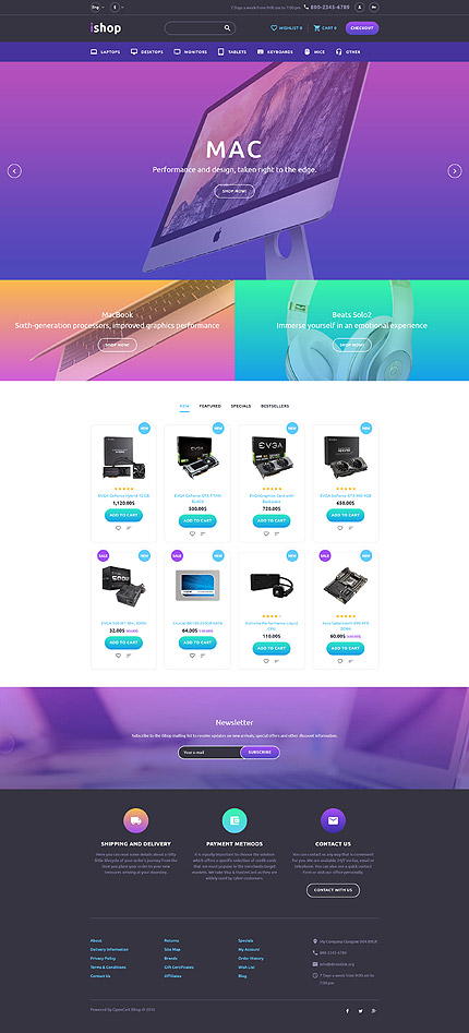 Computers Most Popular website inspirations at your coffee break? Browse for more OpenCart #templates! // Regular price: $72 // Sources available: .PSD, .PNG, .PHP, .TPL, .JS #Computers #Most Popular #OpenCart