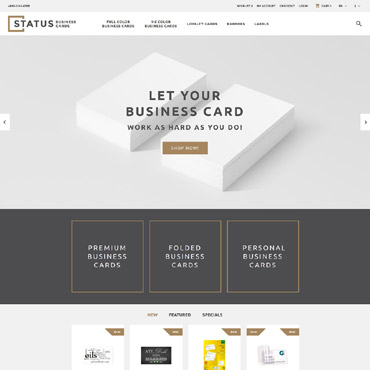 OpenCart Template # 58287