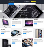 Responsive JavaScript Animated Template #58310