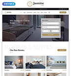 Responsive JavaScript Animated Template #58330
