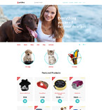 Pets OpenCart Template