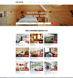 Responsive JavaScript Animated Template #58356