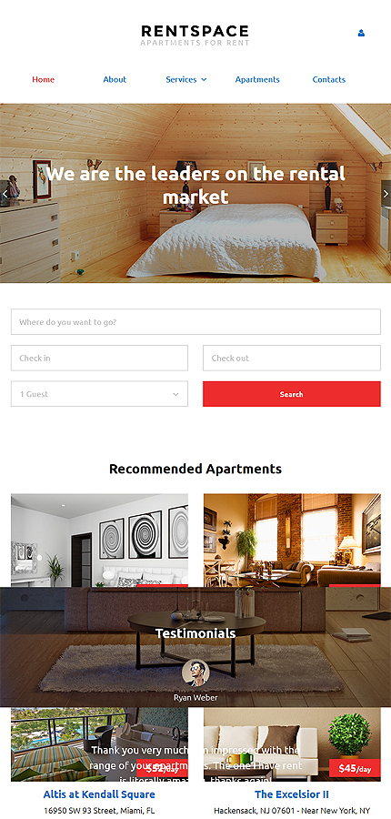 Real Estate Most Popular website inspirations at your coffee break? Browse for more Responsive JavaScript Animated #templates! // Regular price: $72 // Sources available: .HTML,  .PSD #Real Estate #Most Popular #Responsive JavaScript Animated