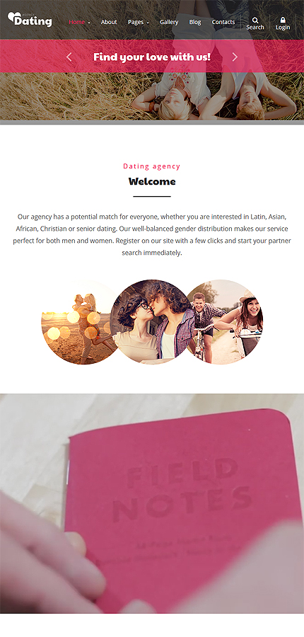 Dating Most Popular website inspirations at your coffee break? Browse for more Joomla #templates! // Regular price: $75 // Sources available: .PSD, .PHP #Dating #Most Popular #Joomla