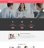 Business Progress Drupal Template
