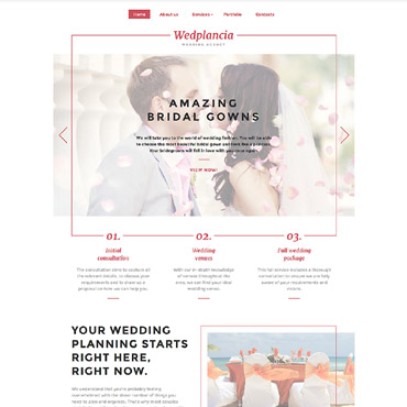Website Template # 58409