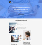 Business Consulting Landing Page Template