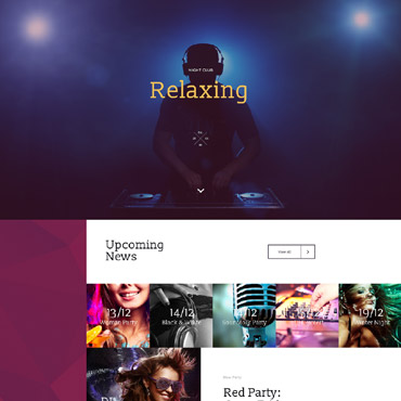 Landing Page Template # 58448
